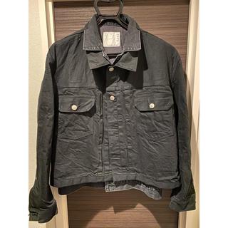 サカイ(sacai)のSacai 2020ss ブラックデニムレイヤードジャケット(Gジャン/デニムジャケット)