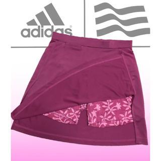 adidas - アディダスゴルフ  花柄 パンツ一体型  ゴルフスカート ゴルフウェア S