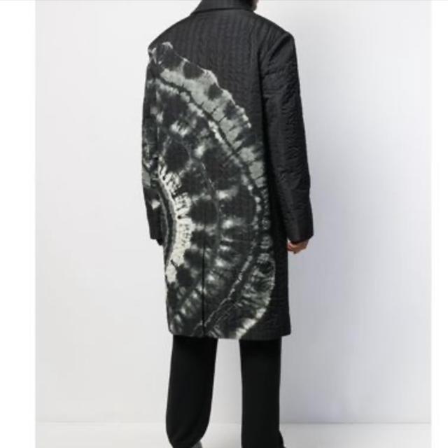 DRIES VAN NOTEN(ドリスヴァンノッテン)のdries van noten 19aw タイダイ柄キルティングコート メンズのジャケット/アウター(チェスターコート)の商品写真