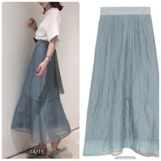 snidel - 完売🌷新作新品🍀スナイデル オーガンジースカート