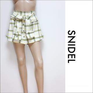 スナイデル(snidel)のsnidel 腰巻き風  スカート スカパン♡ダズリン マーキュリーデュオ (ミニスカート)