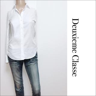 ドゥーズィエムクラス(DEUXIEME CLASSE)のDeuxieme Classe ストライプ シャツ♡フォクシー ルネ バーバリー(シャツ/ブラウス(長袖/七分))