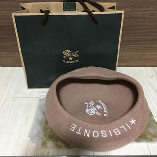 IL BISONTE - IL BISONTE  ウールベレー帽