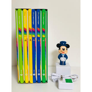 Disney - 新ディズニー英語システム★BOOK12冊&ライトライトペン★激レア!早い者勝ち!