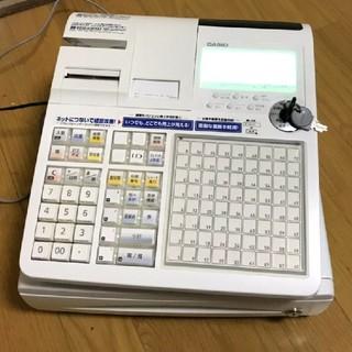 カシオ(CASIO)のカシオ レジTK-2600-4S(店舗用品)