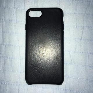 iPhone8/7 Apple純正レザーケース