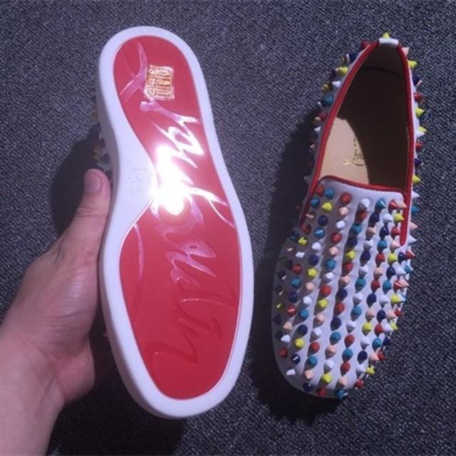 Christian Louboutin(クリスチャンルブタン)のスニーカー 美品 メンズの靴/シューズ(スニーカー)の商品写真