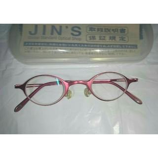 ジンズ(JINS)のJINS ジンズ メガネ(度無し)(サングラス/メガネ)