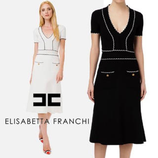 BCBGMAXAZRIA - エリザベッタフランキ ニットドレス