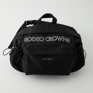 ロデオクラウンズワイドボウル(RODEO CROWNS WIDE BOWL)の新品 ブラック ※折り畳み圧縮して発送お手続き致します。あらかじめ御了承ください(リュック/バックパック)