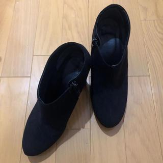 ステュディオス(STUDIOUS)のお値下げ!美品 STUDIOUS / ショートブーツ 23.0cm 日本製(ブーツ)