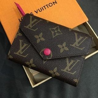 LOUIS VUITTON - ヴィクトリーヌ 三つ折り財布