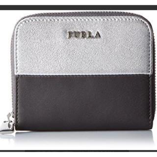 フルラ(Furla)の新品 未使用 純正箱 カード付 フルラ  バイカラーのミニジップ財布! 革製!(折り財布)