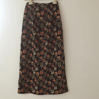 Santa Monica - フラワースカート vintage
