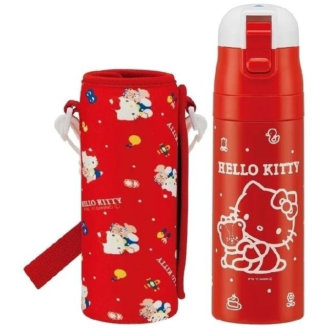 ハローキティ(ハローキティ)のハローキティ ダイレクトステンレスボトル 水筒  キッズ/ベビー/マタニティの授乳/お食事用品(水筒)の商品写真