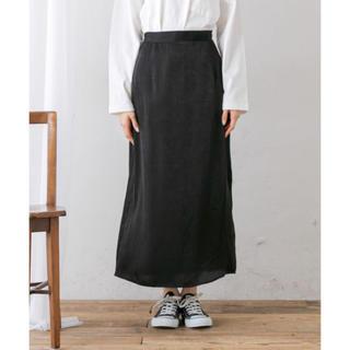 ナイスクラップ(NICE CLAUP)のサテンロングスカート(ロングスカート)