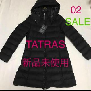 タトラス(TATRAS)の洗練されたデザイン スタイル美人 ブラック タトラス 02(ダウンコート)