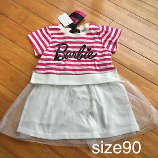 Barbie - バービー  ワンピース 90cm