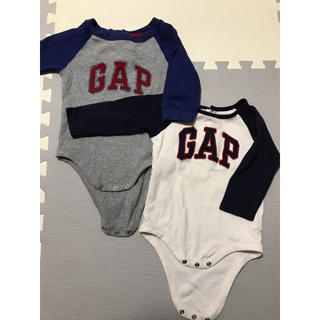 babyGAP - baby GAP ロンパース 2枚セット