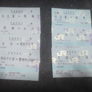 東京⇔大阪  乗車券のみ  利用期限4/3(鉄道乗車券)