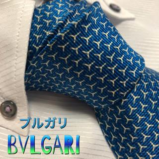 BVLGARI - ブルガリ ネクタイ【美品】BVLGARI   セッテピエゲ 厚手 共裏