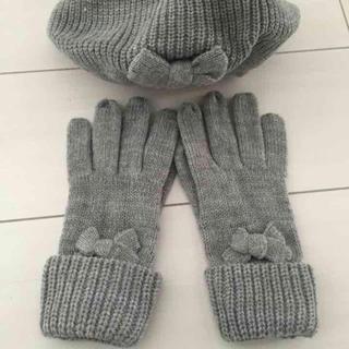 ザラキッズ(ZARA KIDS)のザラガール ニット帽、手袋、マフラー(マフラー/ストール)
