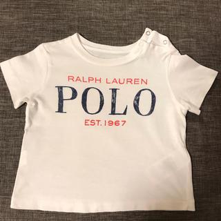Ralph Lauren - ラルフローレン 半袖Tシャツ 白 70〜80cm