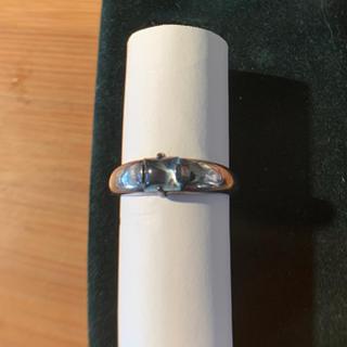 シルバー 925  アクアマリン  天然石 リング(リング(指輪))