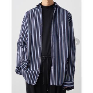 SUNSEA - JUHA stripe over shirts