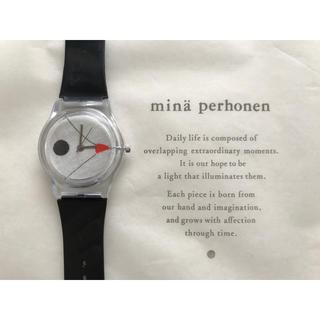 mina perhonen - ミナペルホネン 腕時計(BLK)