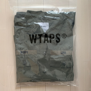 W)taps - wtaps BUDS LS / SHIRT. COTTON. RIPSTOP