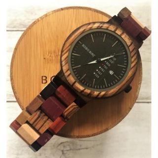 """木製ブランド""""BOBO BIRD""""インスタで人気の腕時計★カラフル(腕時計(アナログ))"""