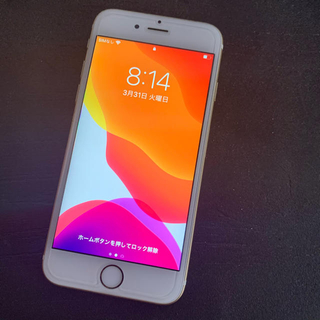 iPhone - iPhone 6S au版 SIMフリー  16G 傷無し美品 ゴールド 残無し