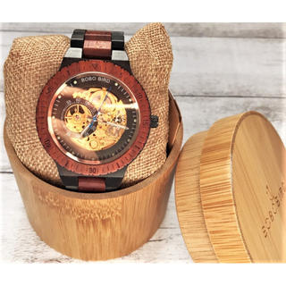 """木製ブランド""""BOBO BIRD""""インスタで人気の腕時計★メンズ☆ギフトに♩(腕時計(アナログ))"""