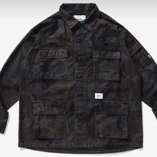 W)taps -  wtaps 20SS JUNGLE LS 02 / SHIRT. CAMO