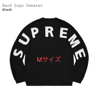 Supreme - シュプリーム バックロゴセーター supreme