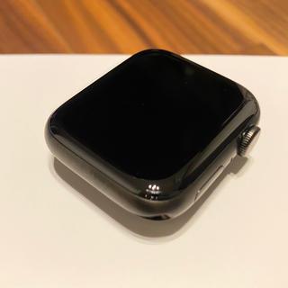 Apple Watch - AppleWatchEdition Series5 44mm ブラックチタニウム
