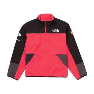 Supreme - Supreme ノースフェイス フリースジャケット RED M 新品
