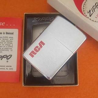 ジッポー(ZIPPO)のZippo RCA赤フエルト(タバコグッズ)