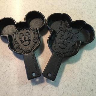 ディズニー(Disney)のミッキー&ミニーマウス☆ホットケーキパン(鍋/フライパン)