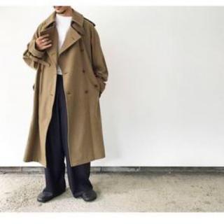 UNUSED - auralee オーラリー 18aw トレンチコート