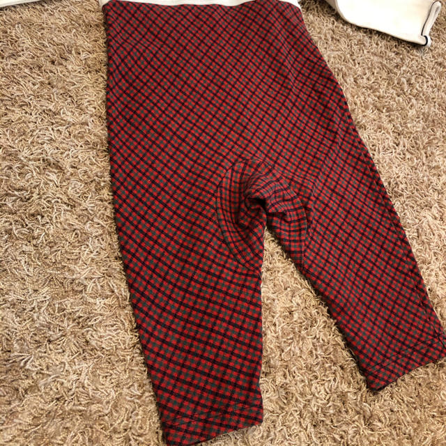 familiar(ファミリア)のファミリア 定番チェック ロンパース 80 キッズ/ベビー/マタニティのベビー服(~85cm)(ロンパース)の商品写真