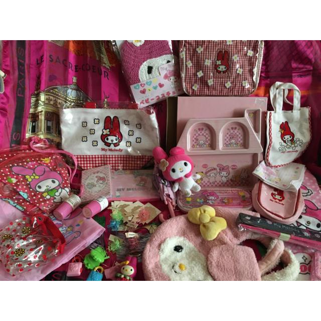 マイメロディ(マイメロディ)のマイメロディ バニティ MY MELODY マスコット非売品 パジャマ プレート エンタメ/ホビーのおもちゃ/ぬいぐるみ(キャラクターグッズ)の商品写真