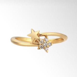 スタージュエリー(STAR JEWELRY)の最終価格 STAR JEWELRY k18 11号(リング(指輪))