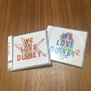 ディズニー(Disney)のWe Love Disney Vol.1・ Vol.2 二枚セット(ポップス/ロック(洋楽))
