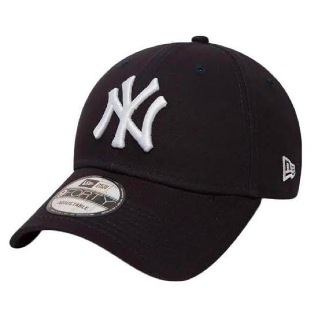NEW ERA(ニューエラー)のNew Era NY ニューエラ ヤンキース キャップ 黒 新品未使用 メンズの帽子(キャップ)の商品写真
