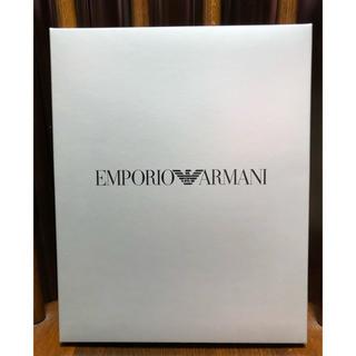 エンポリオアルマーニ(Emporio Armani)のエンポリオアルマーニ メンズ靴下2足 ギフトセット(ソックス)