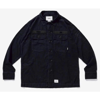 W)taps - Wtaps buds ls shirt Cotton ripstop