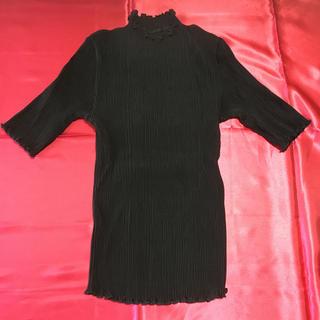 シャルレ - シャルレ 半袖カットソー ブラック M