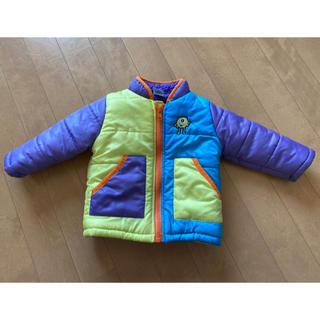 ディズニー(Disney)のモンスターズインク 中ボアジャンパー 中綿入りジャンパー 80 アウター 防寒(ジャケット/コート)
